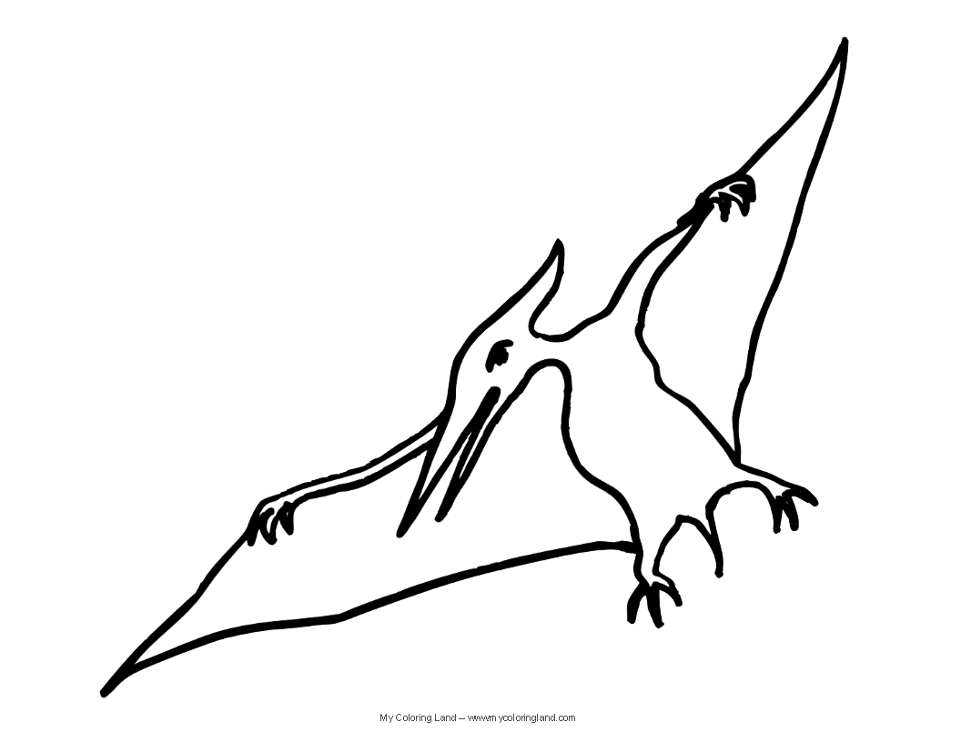 Adult Cute Pterodactyl Coloring Page Images top cute dinosaur my coloring land if you still prefer more realistic pictures and these for any reason look too dont forget to visit our main page images