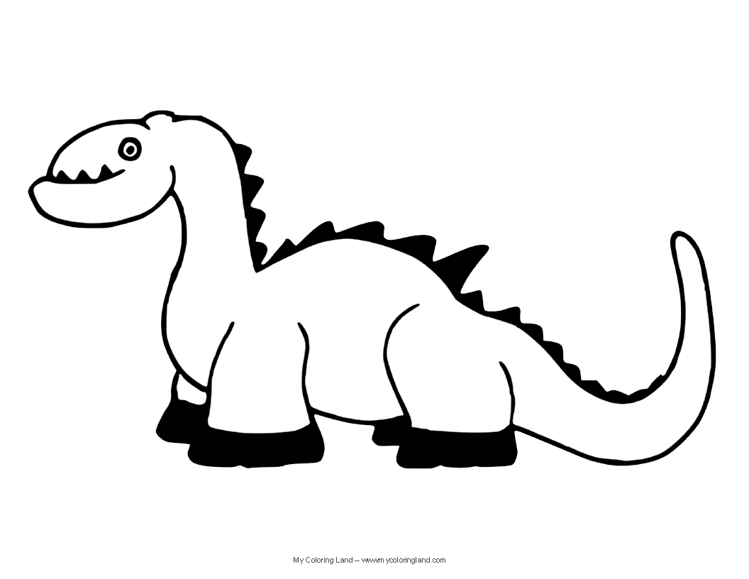 Gallery For gt Cute Stegosaurus Coloring Page