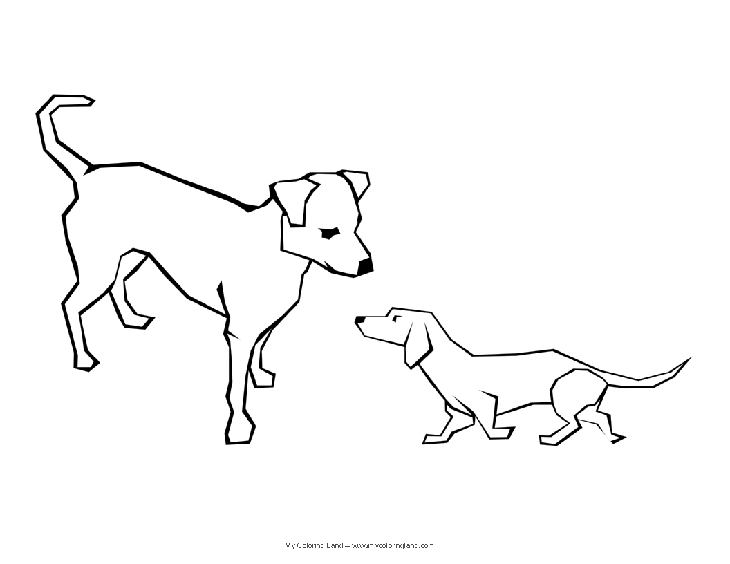 real dogs coloring pages - photo#25