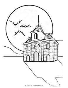 coloring-page-halloween