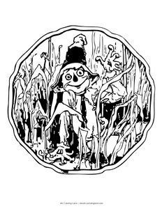 coloring-page-of-scarecrow