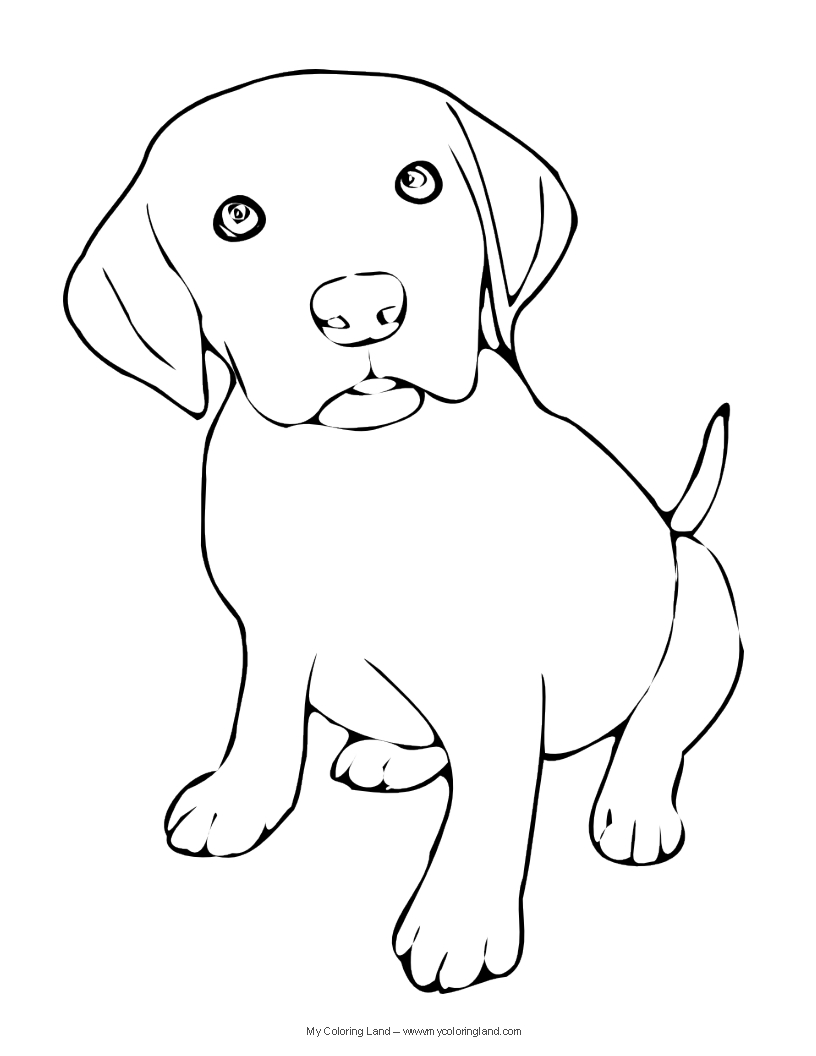 we hope you have found a puppy coloring page suitable to your taste if you are more into proper dogs there are also some free dog coloring pages - Puppy Coloring Pages