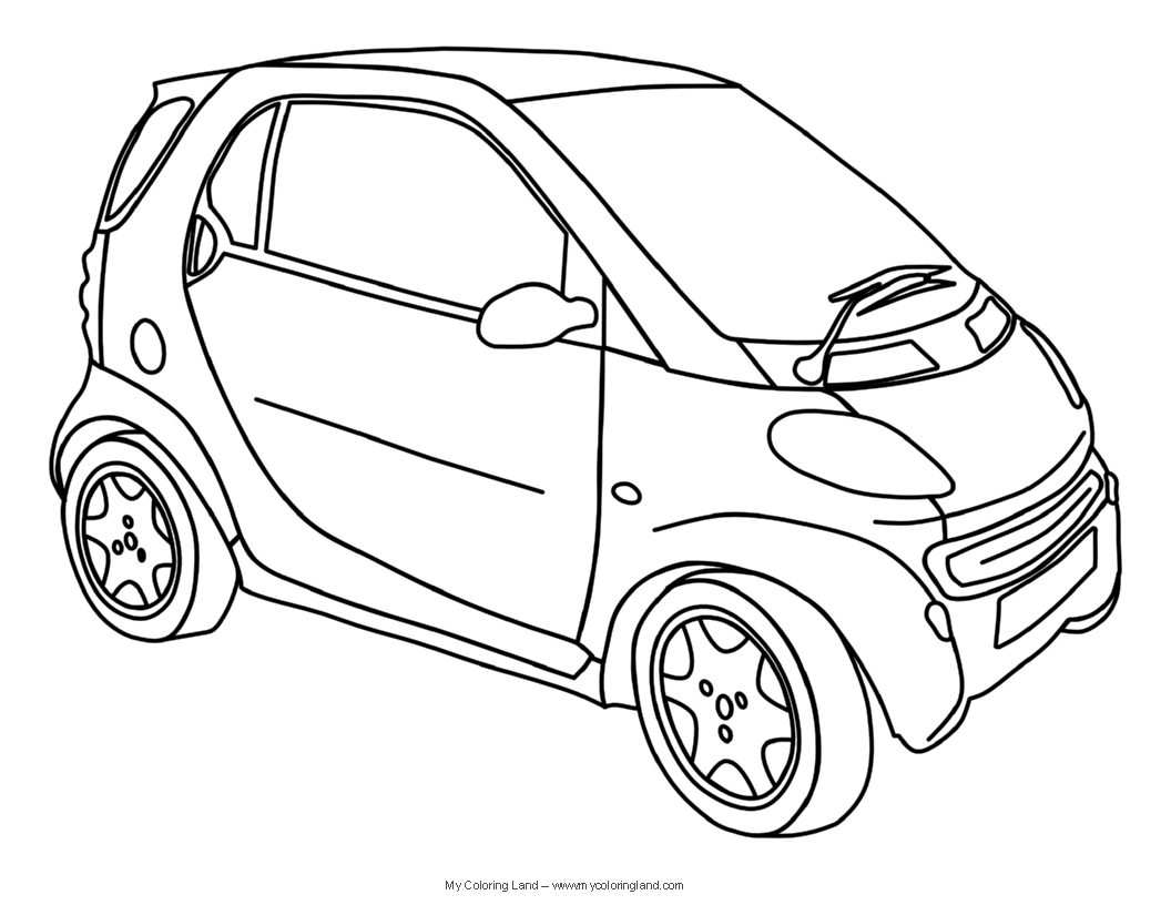 Cars my coloring land for Free cars coloring pages to print
