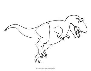 cute dinosaur - my coloring land